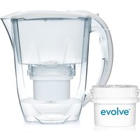Aqua Optima Oria Water Filter 2.8L Jug with 1 Month Starter Pack - White