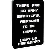 Fizz Creations Light Up Peg Board
