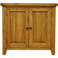 Stockbridge Ready Assembled 2-Door Large Oak Cupboard