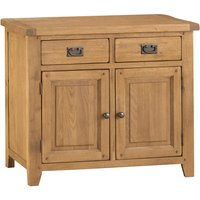 Stockbridge Ready Assembled 2-Drawer 2-Door Oak Sideboard