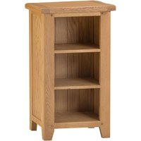 Stockbridge Ready Assembled Narrow Oak Bookcase - Small