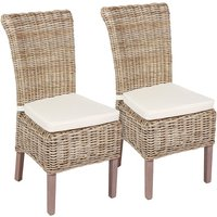 Tocino Ready Assembled Pair of Wicker Chairs