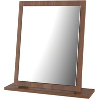 Edina Ready Assembled Dressing Table Mirror -  Walnut