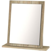 Wilcox Ready Assembled Dressing Table Mirror - Oak Effect