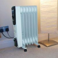 Kingfisher 1500W Oil Radiator Heater