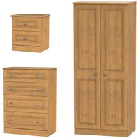 Otega 3-Piece Bedroom Set - Oak