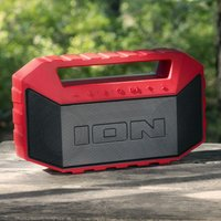 Ion Audio Ion Plunge Waterproof Stereo Boombox - Red