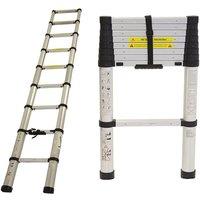 Charles Bentley 2.6m Telescopic Ladder