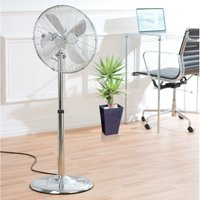 Daewoo Pedestal Fan - Chrome