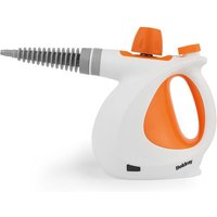 Beldray BEL0701 10-in-1 1000W Handheld Steam Cleaner - Orange/White