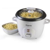 Elgento 0.6L Rice Cooker - White