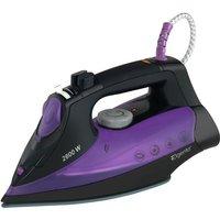 Elgento 2600W Iron - Black/Purple