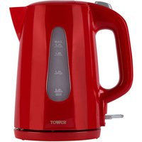 Tower 1.7L 360° Jug Kettle - Red