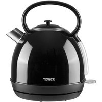 Tower 1.7L Traditional Kettle - Black