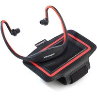 Intempo Bluetooth Wireless Sports Earphones Running Set - Black/Red