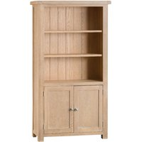 Wisborough Large Fully Assembled Oak Bookcase