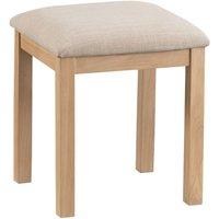 Wisborough Light Oak Dressing-Table Stool
