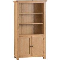 Graceford Large Fully Assembled Oak Bookcase