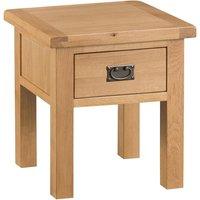 Graceford Oak Lamp Table