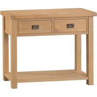 Graceford Oak Console Table