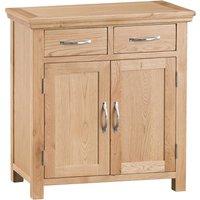 Fenwin Ready Assembled Small 2-Drawer 2-Door Oak Sideboard