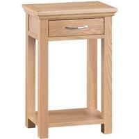 Fenwin Oak Telephone Table