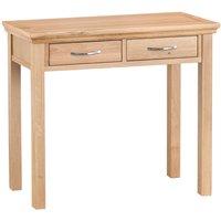 Fenwin 2-Drawer Wooden Dressing Table - Oak