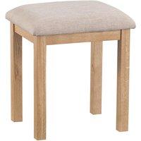 Fenwin Dressing Table Stool - Oak