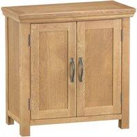 Hindsley Ready Assembled 2-Door Large Oak Cupboard