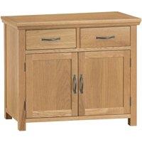 Hindsley Ready Assembled 2-Drawer 2-Door Oak Sideboard