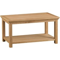 Hindsley Oak Coffee Table - Medium