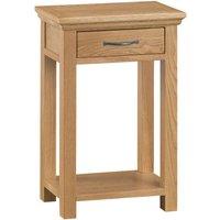 Hindsley Oak Telephone Table