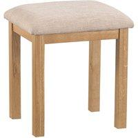 Hindsley Dressing Table Stool - Oak