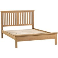 Hindsley 5ft Oak King Size Bed Frame