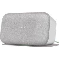 Google Home Max Hands-Free Smart Speaker - Chalk