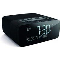 Pure Siesta Rise DAB Radio with Bluetooth and Alarm Clock - Black