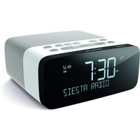 Pure Siesta Rise DAB Radio with Bluetooth and Alarm Clock - White