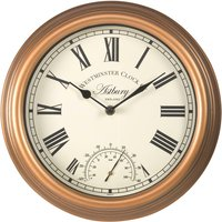 Smart Garden Astbury Wall Clock and Thermometer 12""