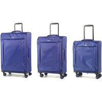 Rock Astro II 3-Piece Suitcase Set - Blue