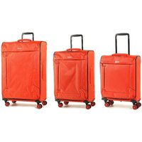 Rock Astro II 3-Piece Suitcase Set - Orange
