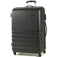 ROCK Byron Large Hard Shell Spinner Suitcase - Black