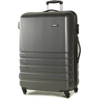 Rock Byron Large Hard Shell Spinner Suitcase - Grey