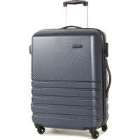 Rock Byron Medium Hard Shell Spinner Suitcase - Navy