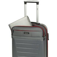 Rock Luggage Hybrid 8 Wheel Large Hard Shell Suitcase - Charcoal