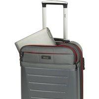 Rock Luggage Hybrid 8 Wheel Medium Hard Shell Suitcase - Charcoal