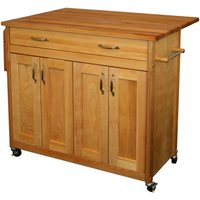 Catskill by Eddingtons Mid-Sized Extendable Kitchen Trolley on Wheels