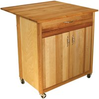 Catskill by Eddingtons Extendable 2-Door Kitchen Trolley with Wheels