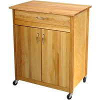 Catskill by Eddingtons 2-Door Kitchen Trolley with Wheels