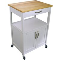 Catskill by Eddingtons Kitchen Trolley - White