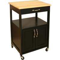 Catskill by Eddingtons Kitchen Trolley - Black